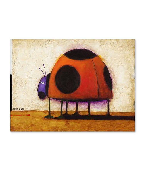 "Trademark Global Daniel Patrick Kessler 'Ladybug' Canvas Art - 24"" x 18"" x 2"""