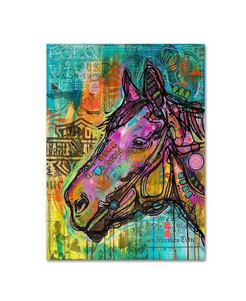 """Trademark Global Dean Russo 'Horsepower' Canvas Art - 47"""" x 35"""" x 2"""""""