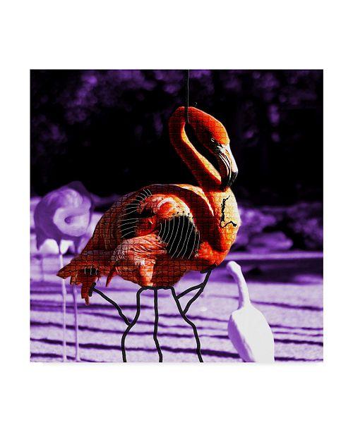 "Trademark Global Dana Brett Munach 'Dignity' Canvas Art - 35"" x 35"" x 2"""