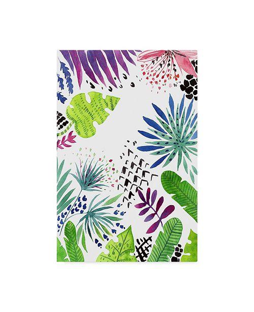 "Trademark Global Irina Trzaskos Studio 'Tropical Foliage 1' Canvas Art - 32"" x 22"" x 2"""