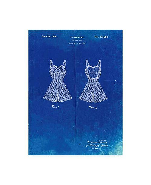 "Trademark Innovations Cole Borders 'Dress' Canvas Art - 19"" x 14"" x 2"""