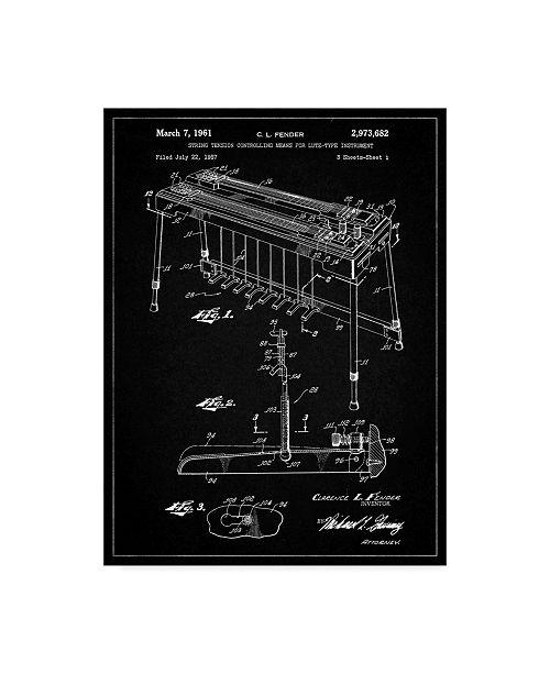 "Trademark Global Cole Borders 'Mechanics 19' Canvas Art - 32"" x 24"" x 2"""