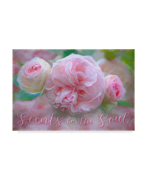 """Trademark Global Cora Niele 'Sent For The Soul' Canvas Art - 19"""" x 12"""" x 2"""""""