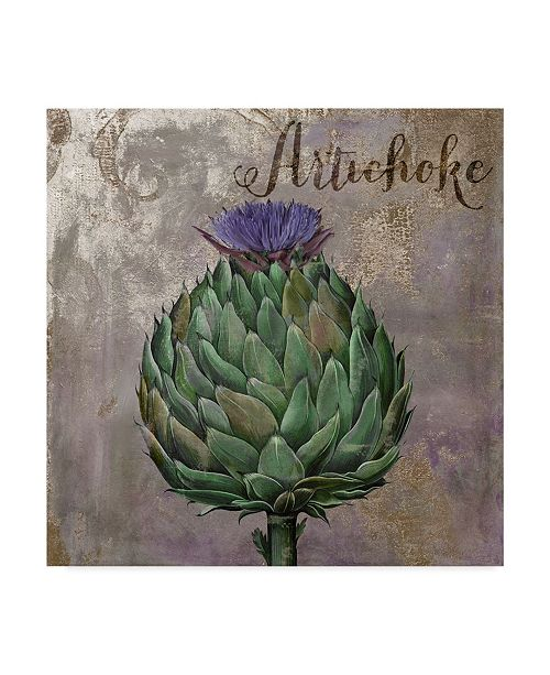 "Trademark Global Color Bakery 'Medley Gold Artichoke' Canvas Art - 24"" x 24"" x 2"""