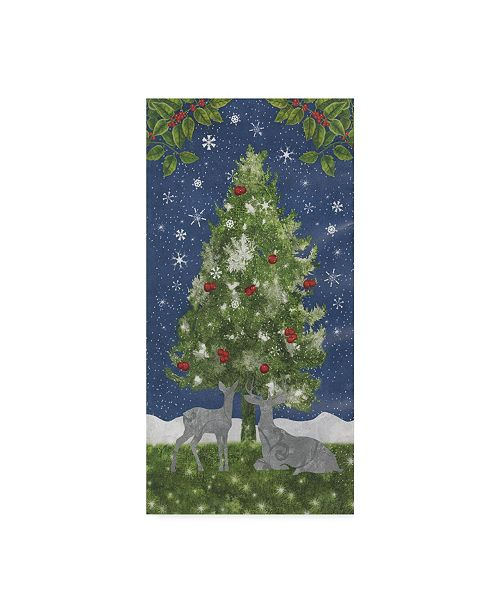 """Trademark Global Color Bakery 'Under The Pines' Canvas Art - 10"""" x 19"""" x 2"""""""