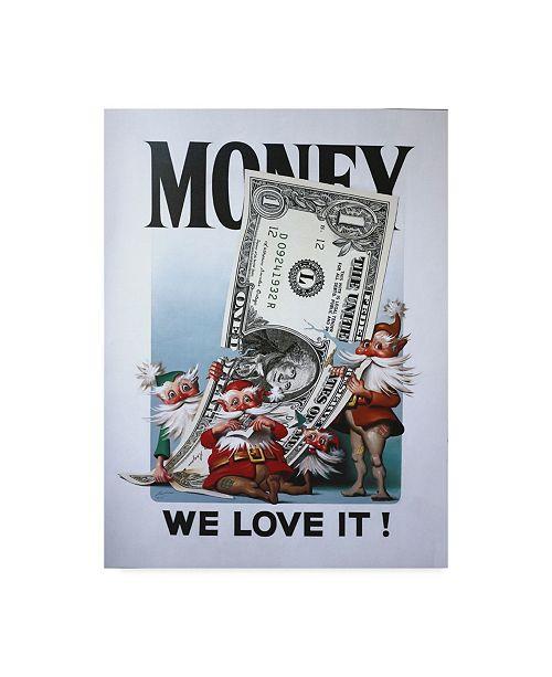 Christmas Tree Store Erie Pa: Trademark Global D. Rusty Rust 'Money' Canvas Art
