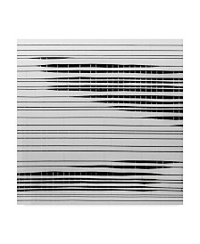 """Gilbert Claes 'Lurkers Wall' Canvas Art - 35"""" x 2"""" x 35"""""""