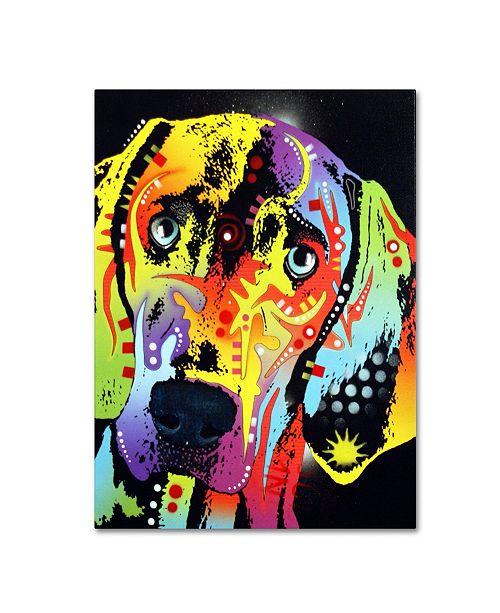 "Trademark Global Dean Russo 'Weimaraner' Canvas Art - 18"" x 24"" x 2"""