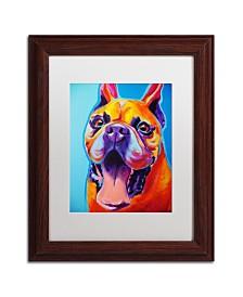 """DawgArt 'Tyson' Matted Framed Art - 11"""" x 14"""" x 0.5"""""""