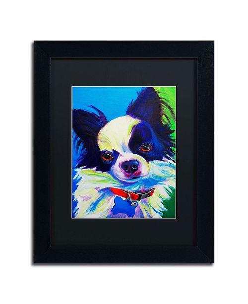 "Trademark Global DawgArt 'Esso Gomez' Matted Framed Art - 14"" x 11"" x 0.5"""