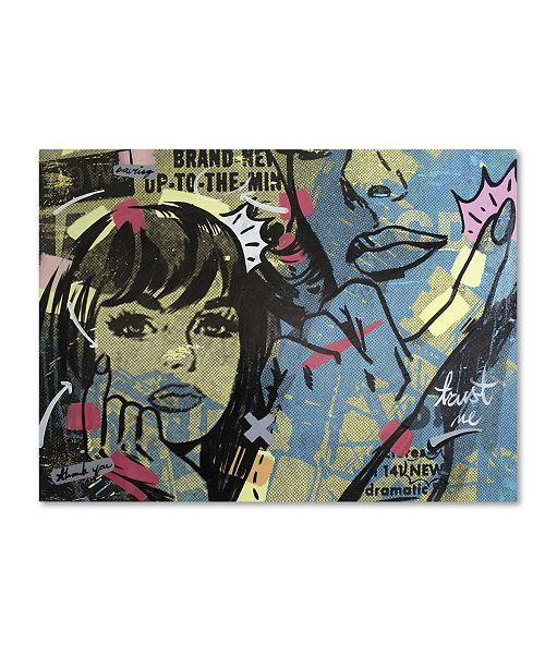 "Trademark Global Dan Monteavaro 'New Dramatic' Canvas Art - 24"" x 18"" x 2"""