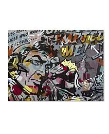 "Dan Monteavaro 'Mimosas' Canvas Art - 19"" x 14"" x 2"""