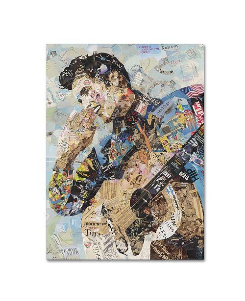 "Trademark Global Ines Kouidis 'All Shook Up' Canvas Art - 19"" x 14"" x 2"""