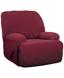 P/Kaufmann Home Double Diamond Jumbo Recliner Stretch  Slipcover
