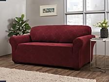 Shapely Diamond Slipcover Sofa