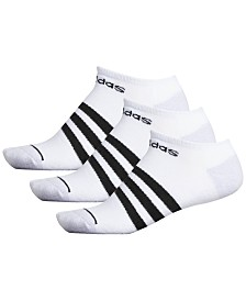 adidas Men's 3-Pk. No-Show Socks