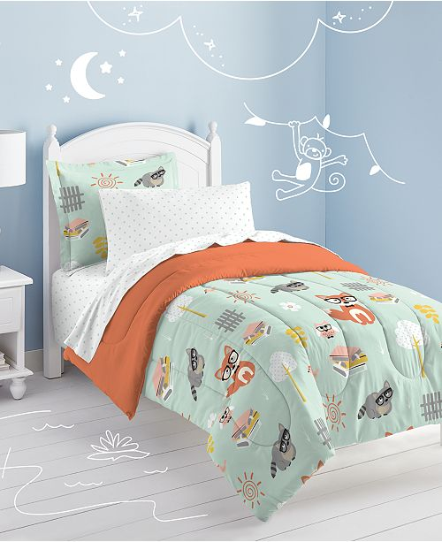 Dream Factory Woodland Friends Twin Comforter Set