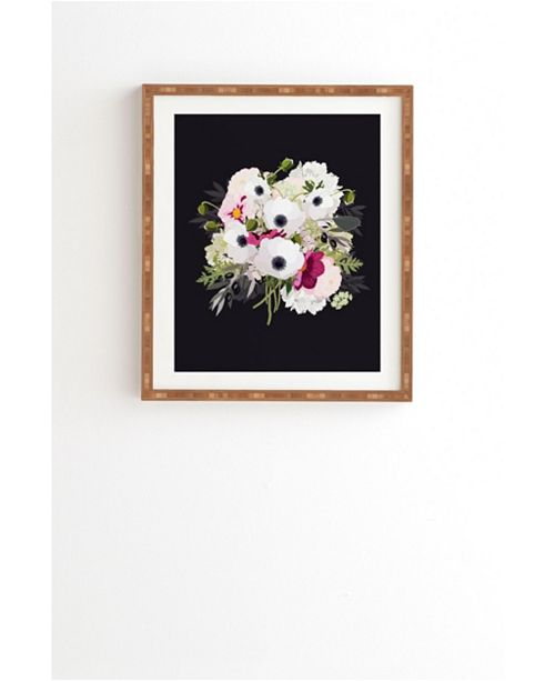 Deny Designs Antoinette Night Framed Wall Art