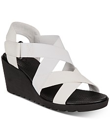 White Mountain Esther Wedge Sandals