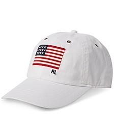 Men's Flag Chambray Baseball Cap