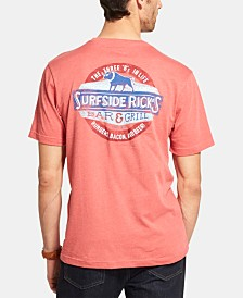 G.H. Bass & Co. Men's Salt Cove Surfside Rick's Graphic T-Shirt