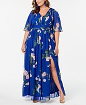 69c251740d281 Adrianna Papell Plus Size Dresses: Shop Adrianna Papell Plus Size ...