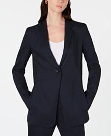 Elie Tahari Hillary Single-Button Jacket