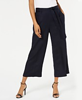 cafabe3a465 Bar III Cropped Wide-Leg Pants