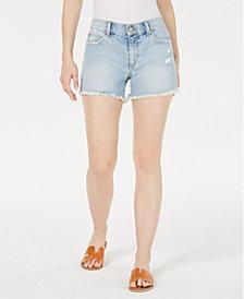 Joe's Jeans Ozzie Ripped Denim Shorts
