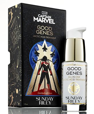 Sunday Riley Limited Edition Captain Marvel x Good Genes All-In-One Lactic Acid Treatment, 1-oz.