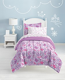 Stars & Crowns Twin Comforter Set