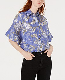 Love Letters Cotton Printed Shirt