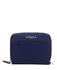Tumi Voyageur Tri Fold Zip-Around Wallet