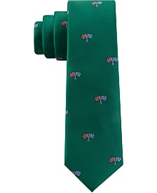 Tommy Hilfiger Toddler & Little Boys Racing Silk Tie