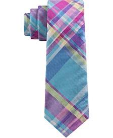 Tommy Hilfiger Toddler & Little Boys Pastel Plaid Silk Tie