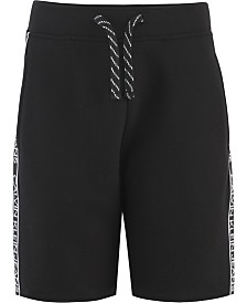 Calvin Klein Big Boys Logo Taping Knit Shorts