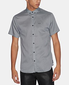 A|X Armani Exchange Men's Pebble Shirt