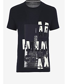 A|X Armani Exchange Men's Skyline Graphic T-Shirt