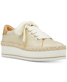Nine West Evie Lace-Up Espadrille Sneakers