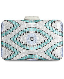 I.N.C. Athena Evil Eye Sparkle Clutch, Created for Macy's