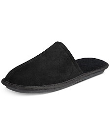 Gold Toe Men's Suede Slippers