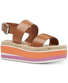 Athena Platform Espadrille Sandals