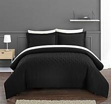 Jazmine 7 Piece Queen Bed In a Bag Comforter Set