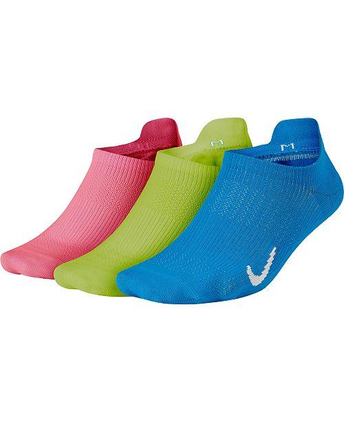 Nike Everyday Plus 3-Pk. Lightweight No-Show Socks