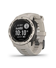 Garmin Instinct Rugged GPS Watch in Tundra
