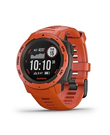 Garmin Instinct Rugged GPS Watch in Red