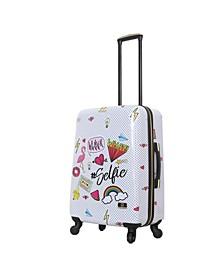 "Nikki Chalinau Whalinaatever 24"" Hardside Spinner Luggage"