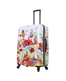 "Halina Collier Campbell Secret Garden 28"" Hard Side Spinner Suitcase"