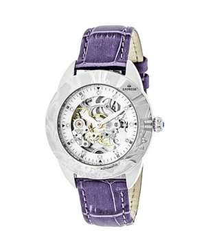 Godiva Automatic Lavender Leather Watch 38mm