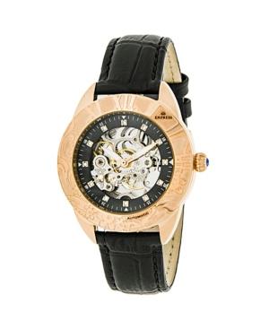 Godiva Automatic Black Leather Watch 38mm